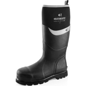 Buckler BBZ6000 S5 black safety wellington Buckbootz knee length boot