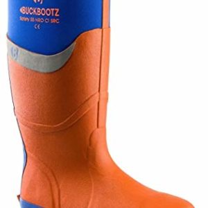 Buckler BBZ6000 S5 orange safety wellington Buckbootz knee length boot