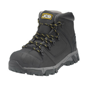JCB XSERIES S3 black leather aluminum toe/kevlar midsole safety work boot