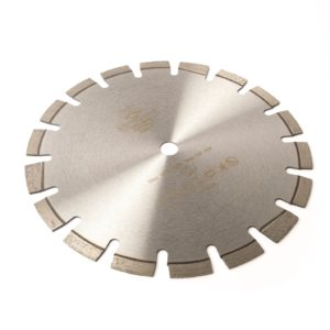 Wet/dry disc saw blade with 12mm premium professional laser weld diamond cutting teeth