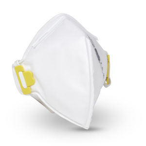 Respair P2 disposable unvalved respirator fold-flat mask BRITISH MADE (pack 20)